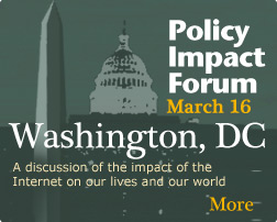 Policy Impact Forum - 16th March - Washington DC